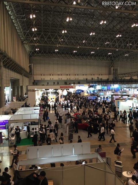 CEATEC 2015の会場