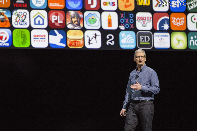 Appleのティム・クックCEO(C)Getty Images