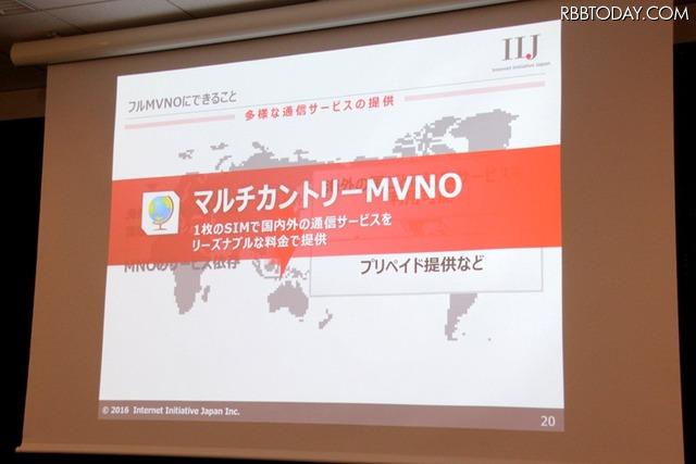 マルチカントリーMVNOにより、1枚のSIMで国内外の通信サービスを低料金で提供できる