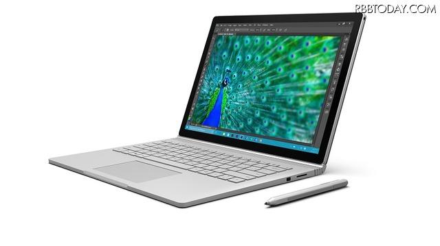 13.5型でキーボード着脱式の「Surface Book」が2月4日より国内販売