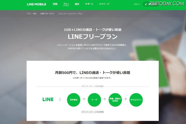 10月1日に正式スタートしたLINEモバイル
