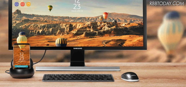 「Galaxy S8」「Galaxy S8+」はホームボタン消失!専用スタンドでUIのデスクトップ化にも対応