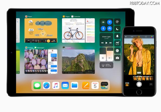 iPhone/iPadの使い勝手が格段によくなる新しいiOS11は今秋リリース予定
