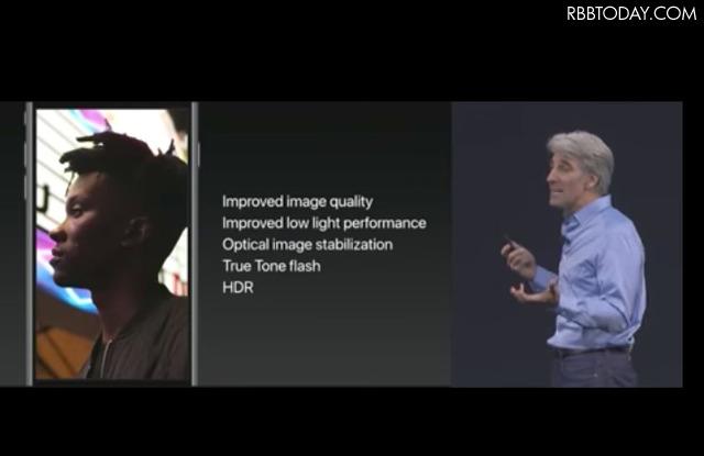 iPhone 7 Plusのポートレートモードもブラッシュアップ