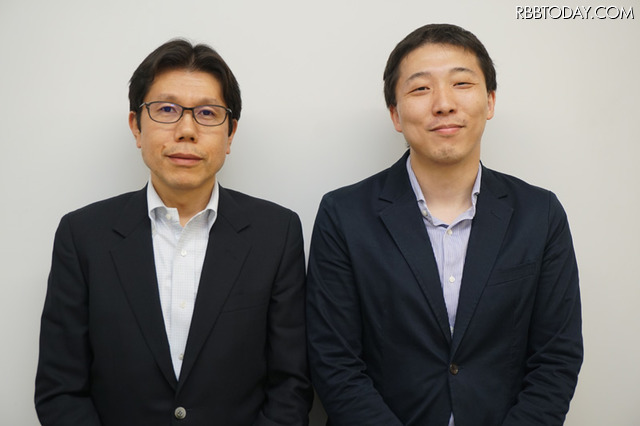 ソニーネットワークコミュニケーションズの細井邦俊氏(写真左)、松井健一氏に「nuroモバイル」のサービスに関する現状を訊ねた