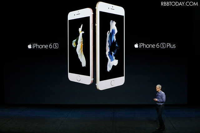 一昨年発表のiPhone 6s/6s Plus(C)Getty Images