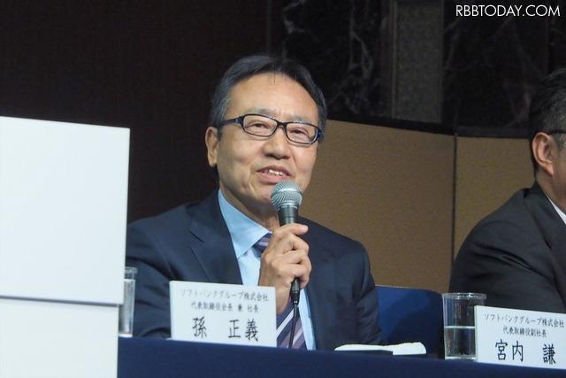 ソフトバンクグループ 代表取締役副社長の宮内謙氏
