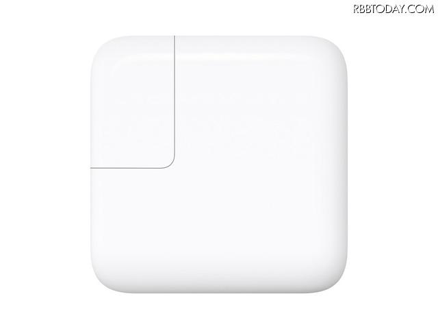 アップルの29W USB-C電源アダプタがあれば急速充電もできる