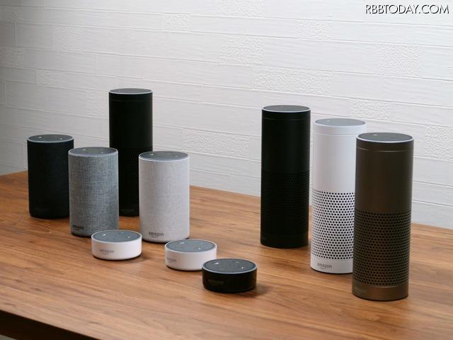 Amazon Echoの製品群