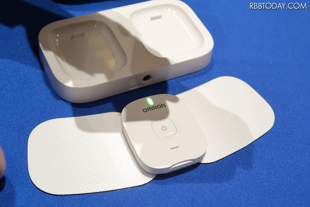 スマートフォンでコントロールできる低周波治療器