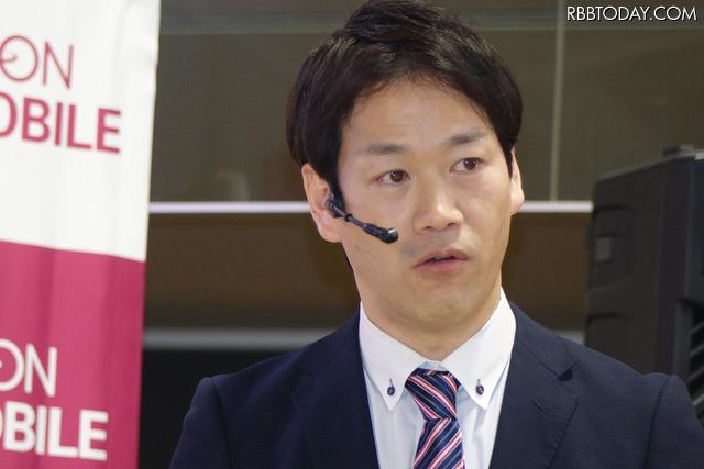 商品管理本部モバイル事業部事業部長の井関定直氏