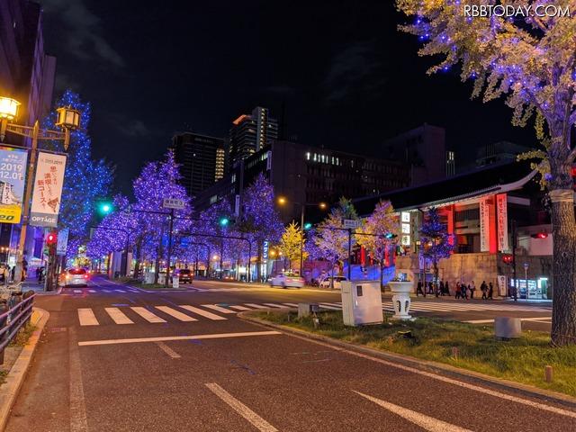 「Pixel 4/4 XL」で大阪・御堂筋イルミネーションを撮ったら綺麗すぎ!「iPhone11 Pro」との比較も