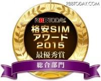格安SIMアワード2015結果発表!総合満足度で「IIJmio」が最優秀